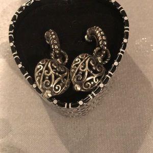 Brighton earrings. Comes in original Brighton tin!